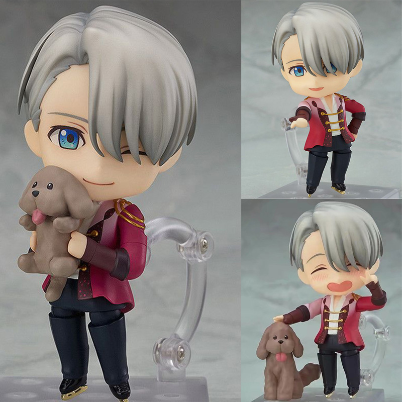 YURI!!! On Ice Victor Nikiforov Figure 741# Victor PVC Action Figure Model Toy Doll Gift