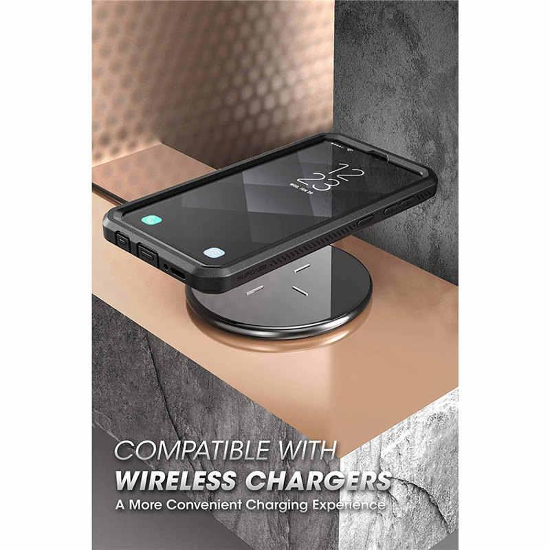 Étui de protection pour Samsung Galaxy A50 (libération 2019) étui robuste UB Pro avec protection d'écran et béquille intégrées