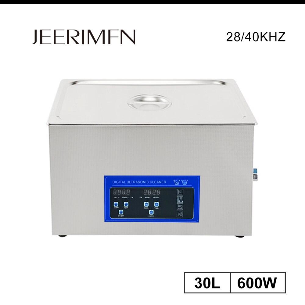 30L промышленный ультразвуковой очиститель, звуковое оборудование, металлические детали двигателя DPF, масло, обезжириватель, ультразвуковая...