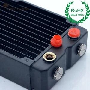 Image 3 - FREEZEMOD компьютер ПК водяной охладитель медный радиатор двухслойный 45 мм толщиной медные плавники G1/4 ROHS сертификация.