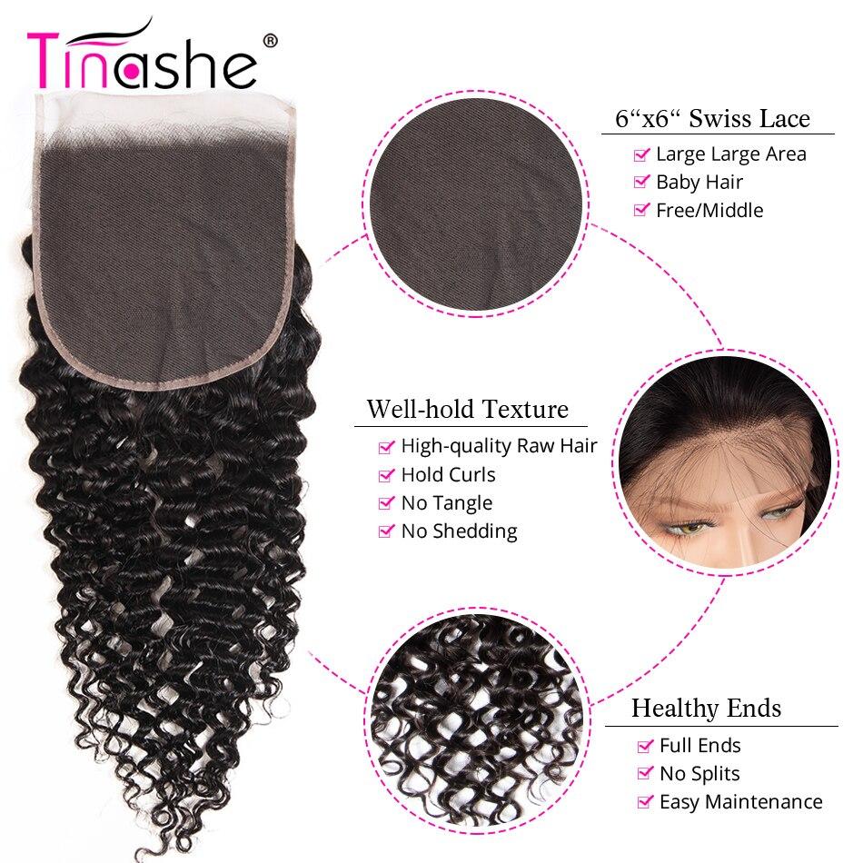 H37efec34ea74483085110e35f7ccc579n Tinashe Hair Curly Bundles With Closure 5x5 6x6 Closure And Bundles Brazilian Hair Weave Remy Human Hair 3 Bundles With Closure