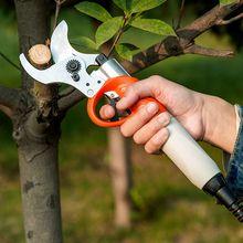 Bahçe aletleri 450W elektrikli budama makası s 36V 4400mah lityum pil elektrikli budama makası meyve bahçesi makas meyve ağacı için