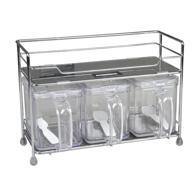 Набор для сыпучих продуктов ROSENBERG, 7 предметов сумка для пикника rosenberg 7 предметов