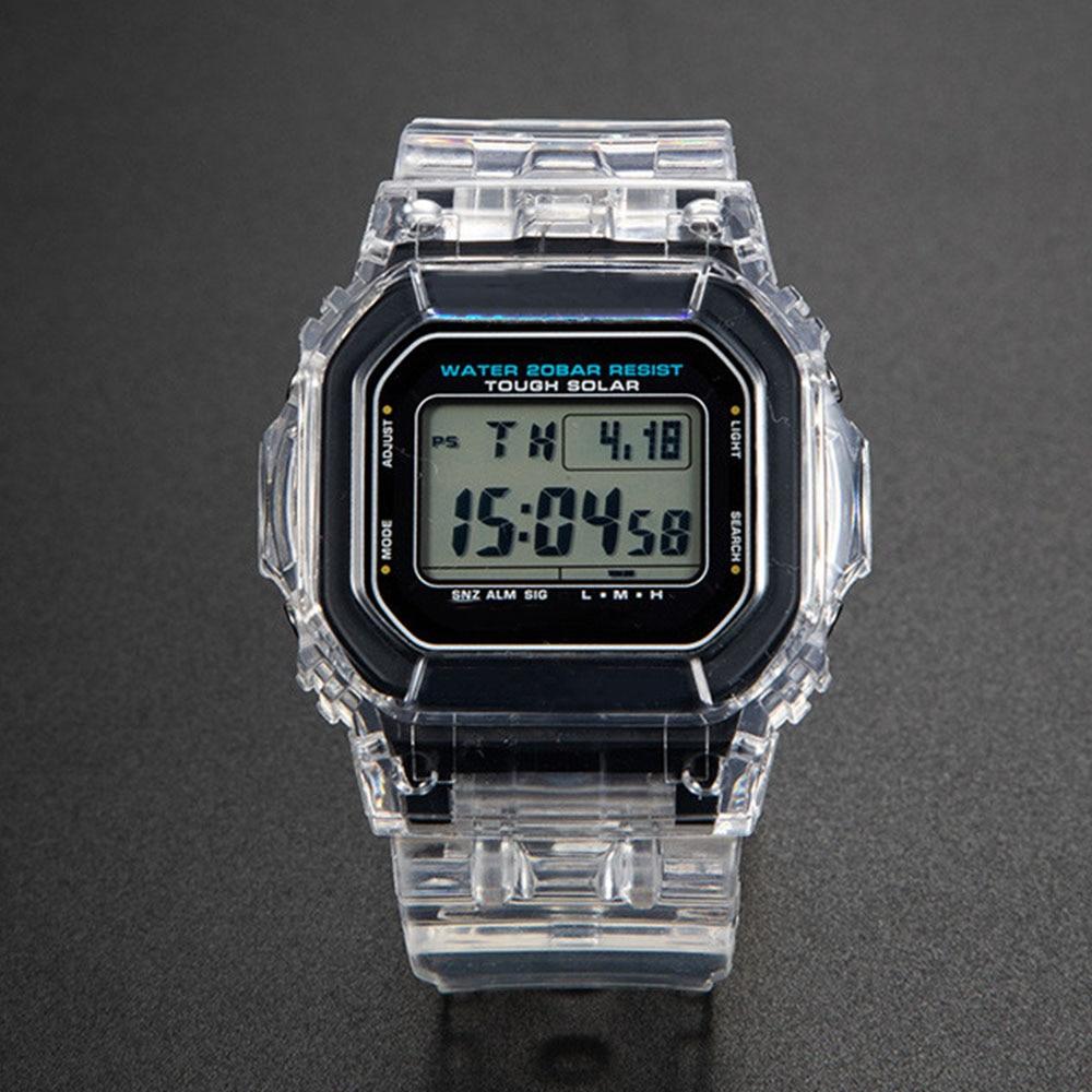 Transparent Watch Set DW5600 GW-M5610 Watchband Bezel Bracelet With Metal Clasp