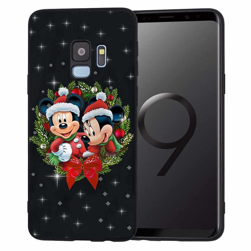 Giáng Sinh Dành Cho Samsung Galaxy Samsung Galaxy S6 S7 Edge S8 S9 S10 Plus Lite Note 8 9 10 A30 A40 A50 A60 a70 M10 M20 Điện Thoại Ốp Lưng Hoạt Hình