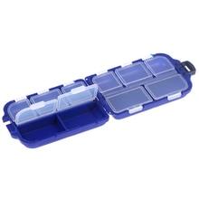 Hooks Tool-Box Bait Fishing-Tackle-Box Plastic Storage-Case 10-Compartments Sea 2-Layer