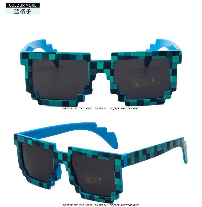 Хит продаж, модные солнцезащитные очки 5 цветов, детские игрушки для игры в Экшн-игры, квадратные очки с ЭВА, чехол, игрушки для детей, подарки