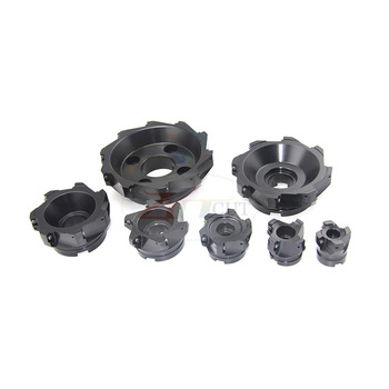 BAP400R-50/63/80/125/160/200mm 90 degree Plane milling cutter plate for APMT1604 CNC rough finish cutter head for machine tools free shipping bap400r c25 26 160 indexable face milling cutter tools for apmt1604 carbide inserts suitable for nc cnc machine