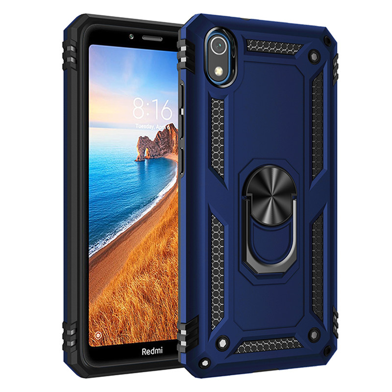 for Xiaomi Redmi 7A redmi7A redmi7 A redmi 7 A Case Cover Armor Rugged Military Shockproof Car Holder Ring Case Fundas