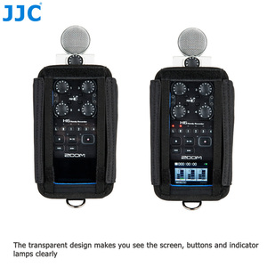 Image 2 - JJC Camera Holder Record Pouch for Zoom Records H6 H5 H4n H4n Pro Handy Video Digital Recorder Protector Accessories Soft Bag