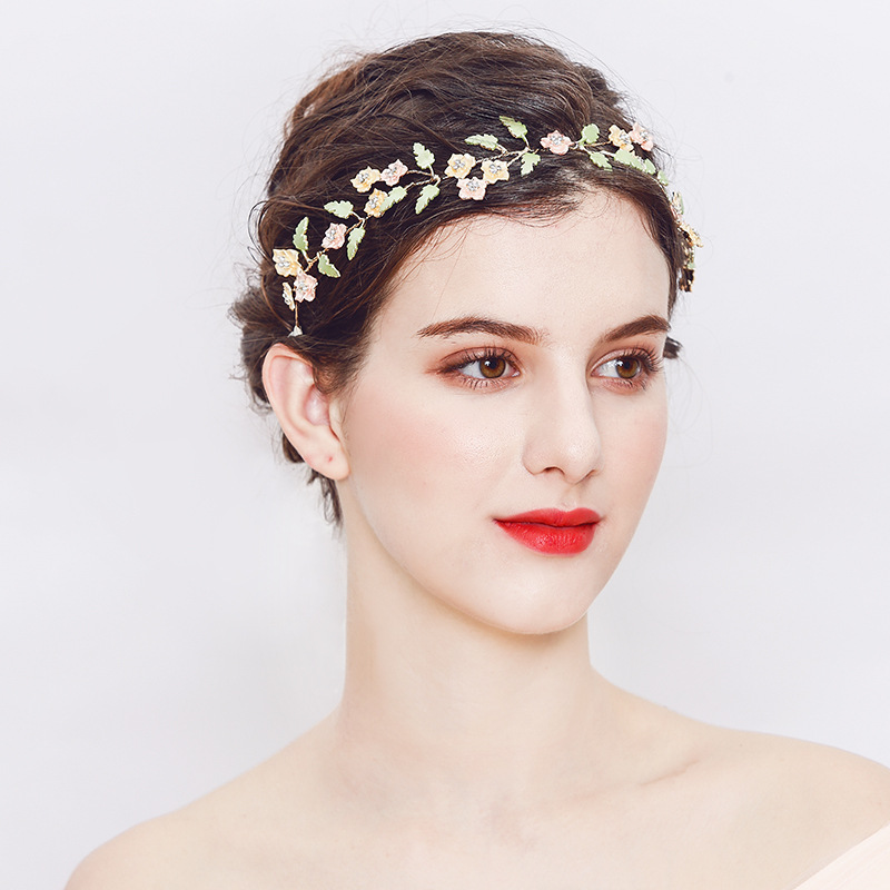 Fashion Headdress For Bride Romantic Wedding Hair Accessories Handmade Wedding Pearl Hairpin Hair Ornaments TS121