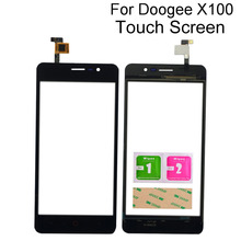 Touch Screen Mobile For Doogee X100 Touch Screen Digitizer Panel Front Glass TouchScreen Lens Sensor Tools 3M Glue 5 0inch touchscreen for doogee x50 sensor digitizer front glass doogee x50l outer lens touch screen for x50 x50l black