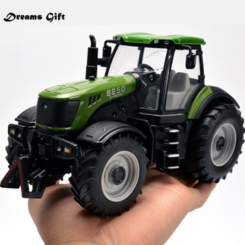 Farm Vehicles Car Model Engineering Car Model Tractor Engineering Car Tractor Toy Model For Children Action Figure Toy Christmas