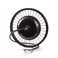 QS 273 8000W Super Speed Electric Rear Wheel Hub Motor 8kw Electric Bicycle bike Brushless Non gear BLDC Hub Motor
