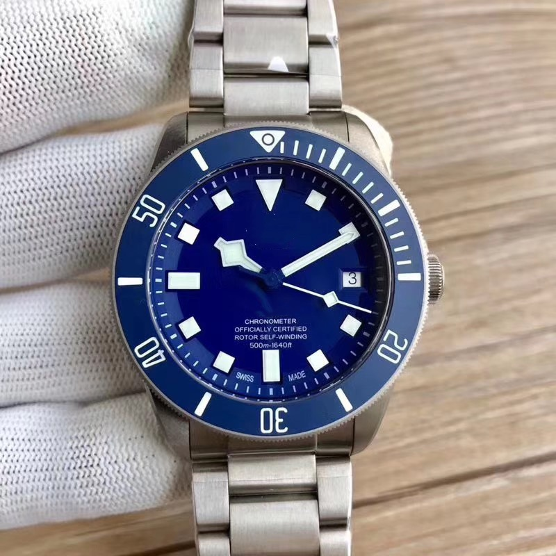 42mm Watch Men Diver Automatic Mechanical  Watch 25500TB Military Sport Clock 316L Stainless Steel Watch A2
