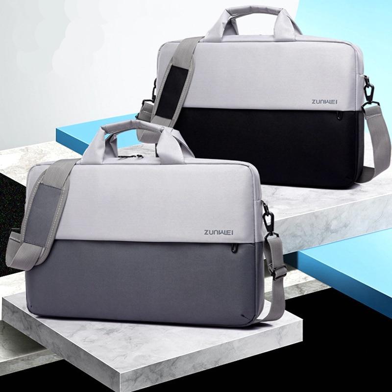 New Style15.6 Inch Briefcase Lady Laptop Bag Men's Bussiness Bag Office Bag Handbag For Men Women Portable Maletin Mujer