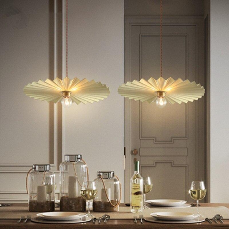 Nordic minimalista stile Americano retrò luce di stile di lusso di personalità creativa ristorante ristorante cafe bar retro lampadari - 3