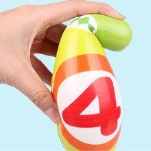 12 шт. в упаковке, Детские Красочные комплект; Для маленьких детей развивающие игрушки, 10-контактный 2 Боулинг