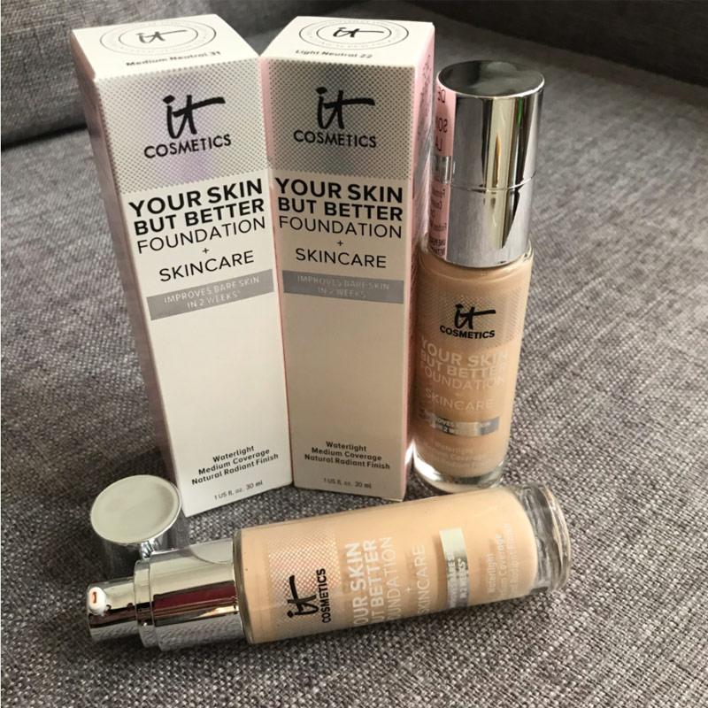 Косметика для вашей кожи, но Улучшенная основа для ухода за кожей, улучшает огрубевшую кожу за 2 недели, покрытие Waterlight, естественное сияющее...