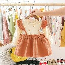 Платье для маленьких девочек; платья для малышей; vestido infantil vestidos infantil; одежда batizado; рождественское платье трапециевидной формы с длинными рукавами в стиле пэчворк; Z4