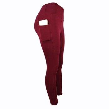 Womens Leggings Anti-celulite Full Length Cotton High Waist Casual Black Workout Skinny Comfortable Leggings Plus Size New