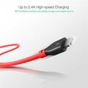 Image 2 - BlitzWolf BW MF11 2.4A USB Male To Lightning Cable Fast Charging Data Transfer Cord Tablet Phone Line For IPhone 12 With MFi