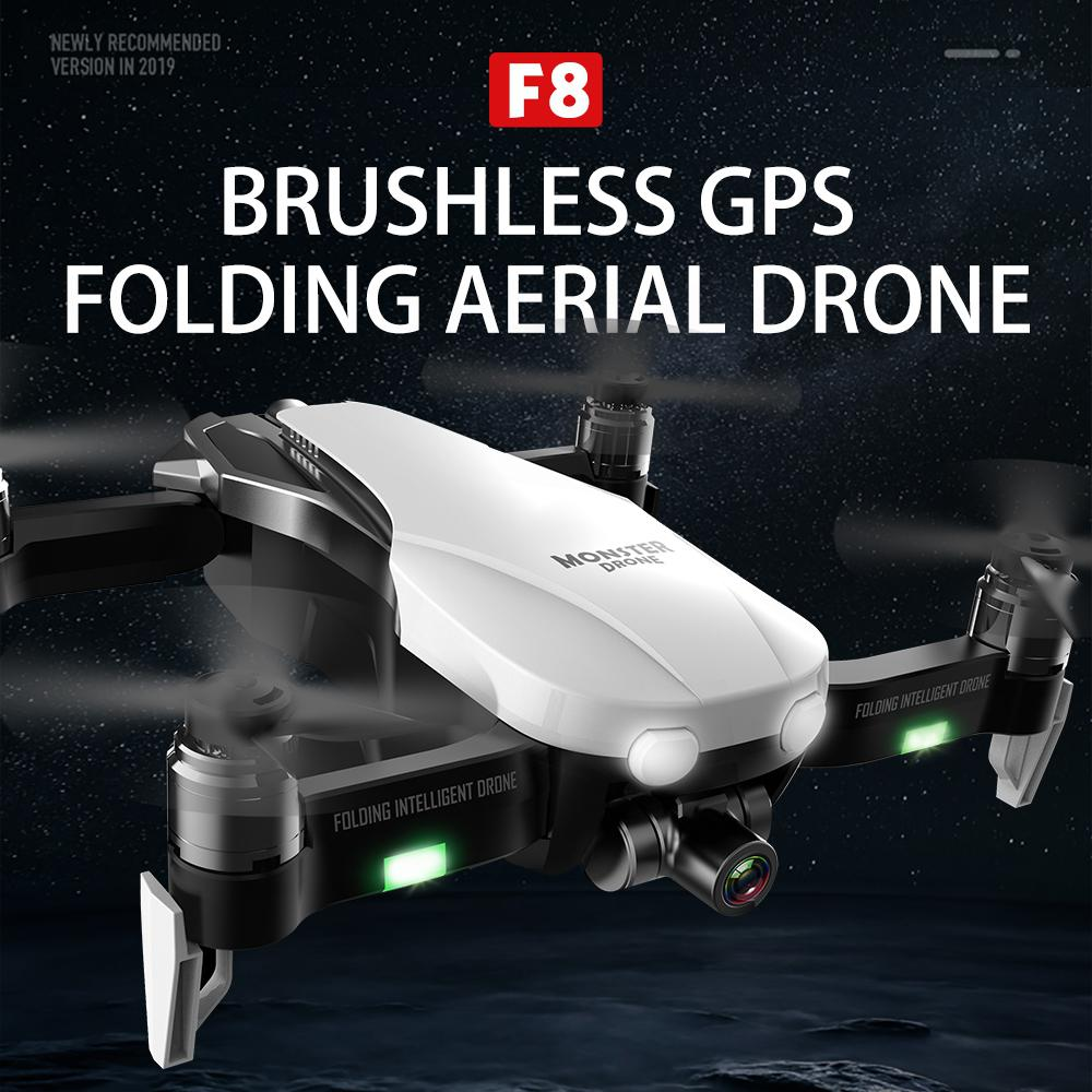 F8 Profissional FPV Vision 4K HD Camera Drone with Two-Axis Anti-Shake and GPS 41