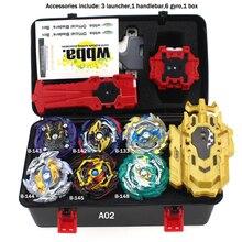 Новая комбинация Beyblades Burst GT Набор игрушек Bey blade Arena Bay blade Металл Fusion 4D с пусковым устройством волчок игрушки