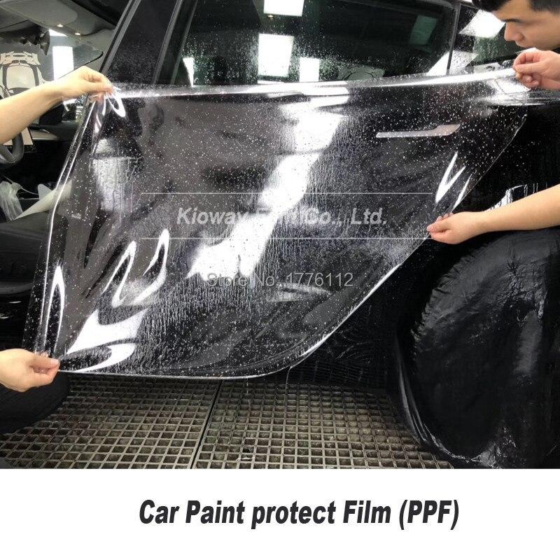 고품질 자기 치유 TPU 투명 광택 PPF 자동차 페인트 보호 필름 PPF 1.52m * 15m/롤 쉬운 설치 안티 옐로우