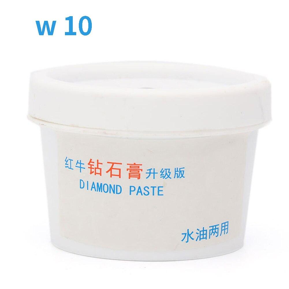 60g Sharpening Abrasive Metal Polishing Paste DIY Portable Effective Diamond Grinding Water Oil Dual Used Buffing Mirror Jade