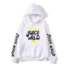 2020 black and white red J UICEWrld hoodie sweatshirt juice wrld juicewrld trap rap rainbow glitch world