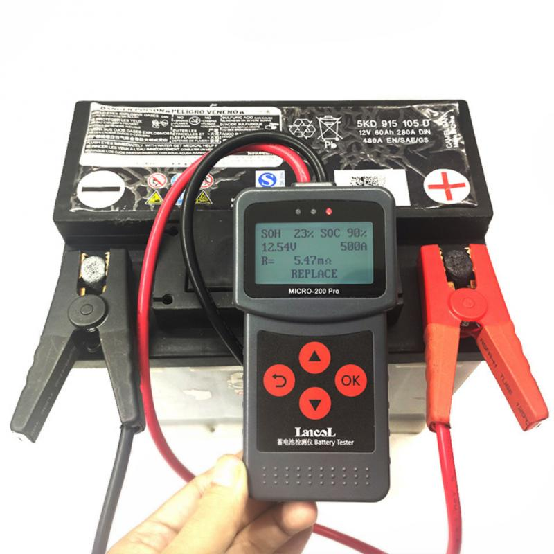 12V 24V Car Battery Tester Diagnostic Portable Battery Tester Battery Colour Coded Meter Indicate Volt Tester Checker  Power