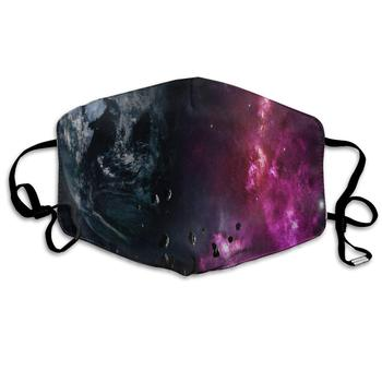 Dustproof Washable Reusable Galaxy Earth Planet Space Nebula Explosion Mouth Cover Mask Protective   Warm Windproof Mask taylor butler christine space planet earth