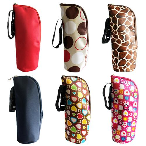 Mummy Pouch Milk Bottle Insulation Bag Cup Hang Thermal Baby Cover Warmer Tote