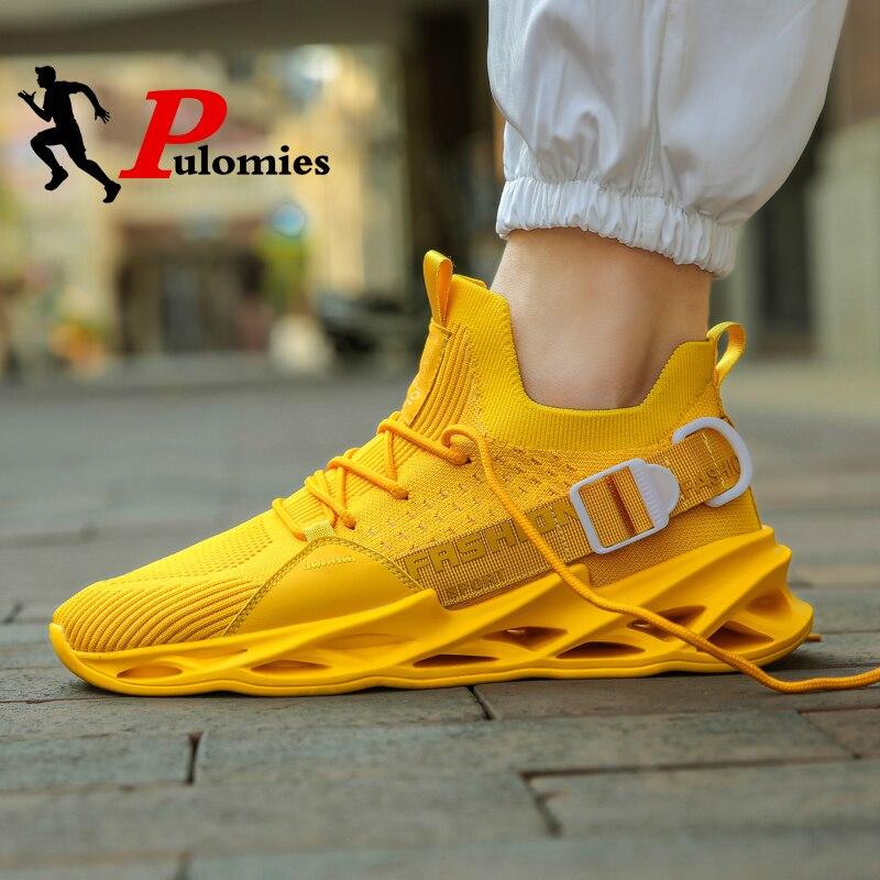 2020 New Men Casual Shoes Men Tennis Shoes Breathable Mesh Sneakers Chunky Platform Sneakers Men Sport Shoes Men Walking Shoes
