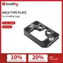SmallRig Arca Type Quick Release Plate for SmallRig Cage Tripod Plate   2389