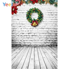 Wood Board Brick Wall Christmas Backdrop Newborn Baby Portrait Pet Show Custom Vinyl Photography Background For Photo Studio kate newborn baby backdrop photography brown wood brick wall fond de studio de adults use fundo fotografico natal
