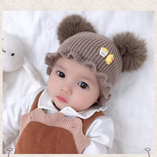 Baby Hat Winter Beanie Hats Winter Girls Warm Beanie Baby Cap Boys bonnet enfant hiver bonnet enfant fille czapki zimowe зимние(China)
