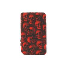 1 sztuk ochronna czaszka krzemu skrzynka dla Voopoo Drag 2 177W zestaw Box Mod antypoślizgowa tekstury skórzany pokrowiec tarcza Wrap rękaw fit drag2 tanie tanio Dekoracyjne Ochrony Band Okładki Torba Red Blue Green Purple