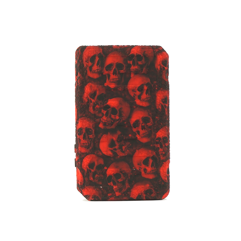 1PC Protective Skull Silicone Case For Voopoo Drag 2 177W Kit Box Mod Anti-slip Texture Skin Cover Shield Wrap Sleeve Fit Drag2