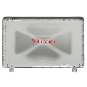 Image 2 - New Laptop LCD Back Cover For HP Pavilion 15 P 15 P066US 15 P000 Silver Non touch 762508 001/with touch