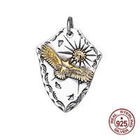 925 sterling silver pendant personalized fashion Indian style pendant flying eagle sun styling to send gifts for lovers 2019 hot