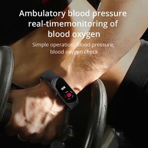 Image 5 - سوار معصم ذكي من COLMI M4S سوار مقاوم للماء للياقة البدنية مراقب معدل ضربات القلب أثناء النوم جهاز تتبع النشاط الرياضي للهواتف التي تعمل بنظام الأندرويد وios