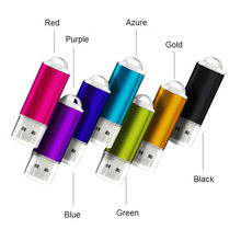 Usb flash drive 64 GB/2.0 gb pendrive pen drive de metal 32 16 GB/8 GB/4 GB Coloful presente stick usb logotipo personalizado drive flash Pendrive 2.0(China)
