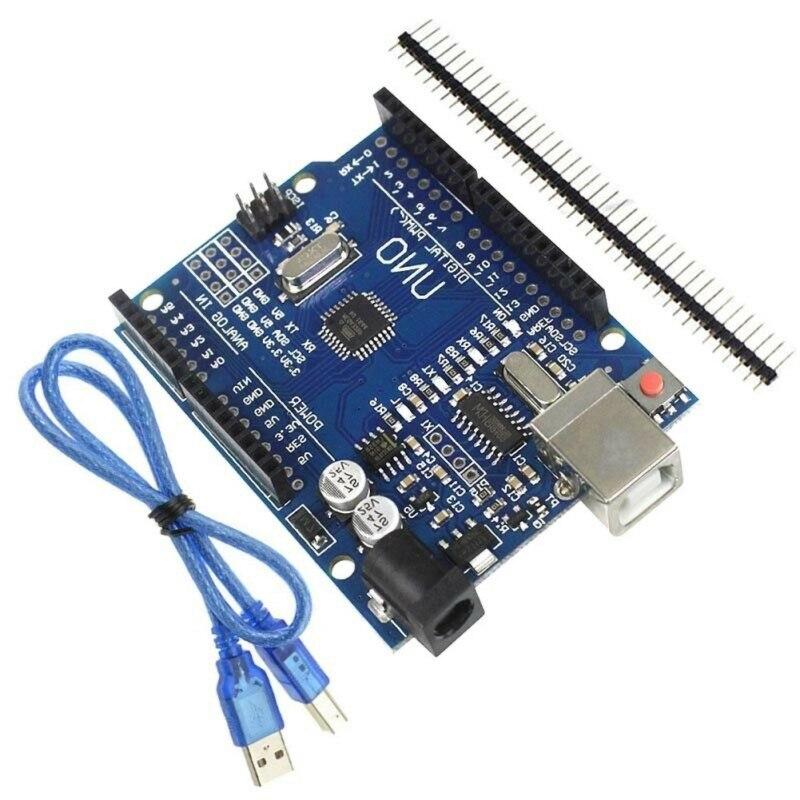Improved Version For Arduino UNO R3 CH340G MEGA328P Chip 16Mhz ATMEGA328P-AU Development Board Integrated Circuits Kit