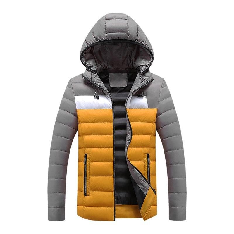 Sisjuly Men Plus Size   Down   Jacket Moto & Biker Warm Plus Velvet Thick Heated Jacket Punk Casual Hooded   Coat   Winter Men Parka