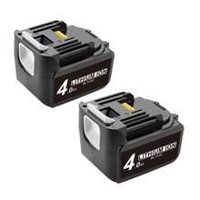 Bonacell 2Pc Voor Makita BL1430 14.4V 4000Mah Vervangende Lithium Ion Batterij LXT200 BL1415 194558-0 194559-8 L10 BDF343 BDF343H