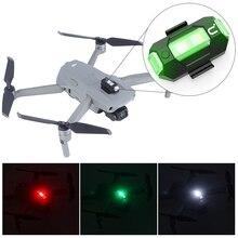 Ulanzi DR 02 Drone światło stroboskopowe dla DJI Marvic 2 Pro światło RGB akcesoria do dronów AntiCollision oświetlenie stroboskopowe akumulator 6.5g