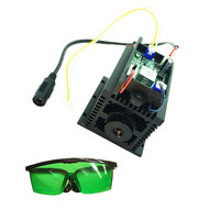 High power 450nm 15w blau laser modul DIY kopf 15000mw TTL einstellbar für CNC