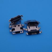 50 шт. разъем MICRO USB зарядный порт Гнездо разъема питания док-станция для HUAWEI P7 G7 G8 G760 P8 C199 LITE Смарт GR3
